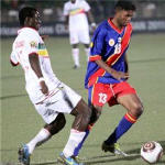 Les leopards du Congo contre le Mali - Football