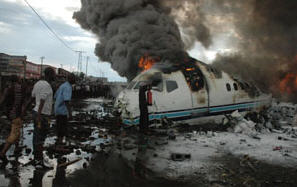 Crash d'un avion - Goma