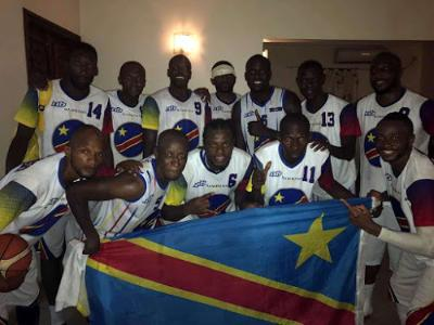 La sélection nationale de Basket-ball de la RDC. Juin 2017. Ph Jo Lolango