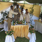 WEDDING CEREMONY AT IMBASENI, ARUSHA, TANZANIA