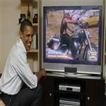 Obama likes to watch me all the time when Iam doing my Racing
